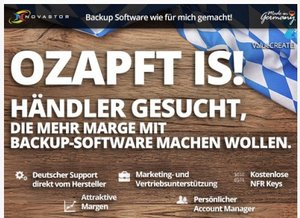 O' zapft is! Backup made in Germany bei NovaStor