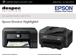 Epson Drucker Highlights!