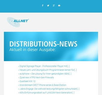 ALLNET Distributions-News KW 12/2019