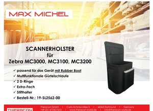 Max Michel Scannerholster MC3000 MC3100 MC3200 RubberBoot