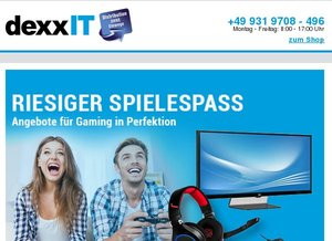 Gaming Highlights bei dexxIT
