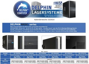 DELPHIN Lagersysteme - KW 15/2014
