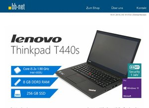 1. Wahl tecXL Angebote > Lenovo Thinkpad T440s > Fujitsu Esprimo P5731 MT > Dell Optiplex 990 MT