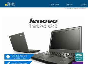 tecXL 2. Wahl Angebote > Lenovo ThinkPad X240 > HP EliteBook 8470p und 840 G1 > Esprimo P720 MT > ThinkCentre M93p SFF