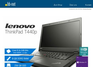 "tecXL Angebote zur CEBIT > Lenovo ThinkPad T440p > Apple iMacs 21,5"" > Dell Latitude E6540 > Fujitsu Esprimo P700 MT"