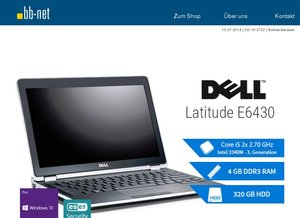 tecXL Angebote am Dienstag > Dell Latitude E6430 > Lenovo ThinkPad L440 > HP EliteBook 8560w > Lenovo Thinkpad W540 > HP ProDesk 600G1 MT