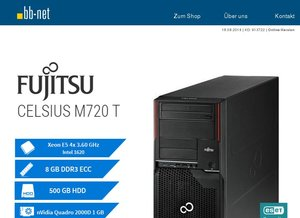 tecXL Angebote am Donnerstag > Fujitsu CELSIUS M720 T > Dell Latitude E5440 > Dell Latitude E5530 > HP EliteDisplay E231 > NEC MultiSync EA223WM